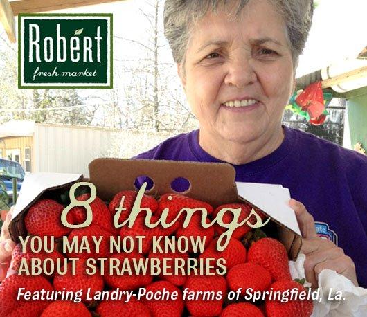 8 Things - Strawberries